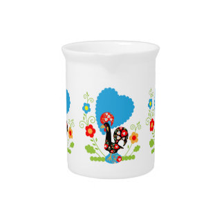 Portuguese Rooster of Luck Pitcher