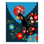 Portuguese Rooster Posters