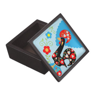 Portuguese Rooster symbol of Portugal Gift Box