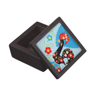 Portuguese Rooster symbol of Portugal Jewelry Box