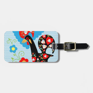 Portuguese Rooster symbol of Portugal Luggage Tag