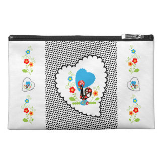Portuguese Rooster Travel Purse. Travel Accessory Bags