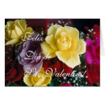 Portuguese: Rosas para o Dia de Sao Valentim! Greeting Card