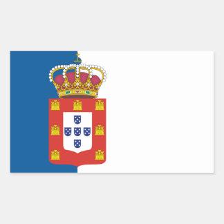 Portuguese Royal Flag Sticker Rectangular Sticker