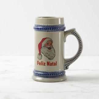 Portuguese Santa Claus Beer Stein