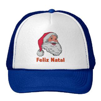 Portuguese Santa Claus Trucker Hats