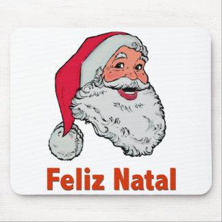 Portuguese Santa Claus Mouse Pad