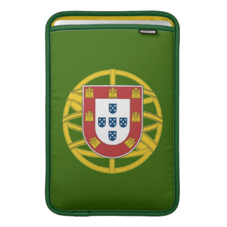Portuguese shield sleeves for MacBook air