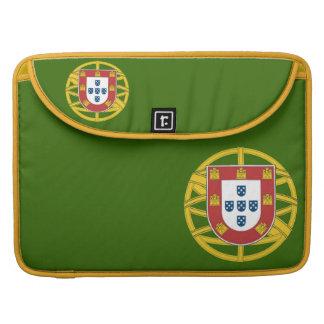 Portuguese shield sleeve for MacBooks