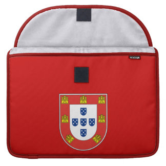Portuguese shield sleeves for MacBook pro