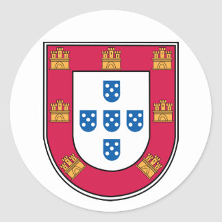 Portuguese Shield Sticker