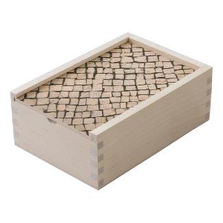 Portuguese Sidewalk / Calçada Portuguesa Wooden Keepsake Box