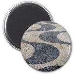 Portuguese sidewalk fridge magnets