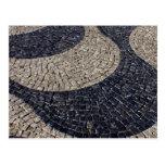 Portuguese sidewalk postcard