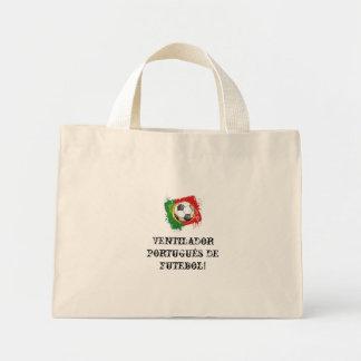 Portuguese soccer fan bag