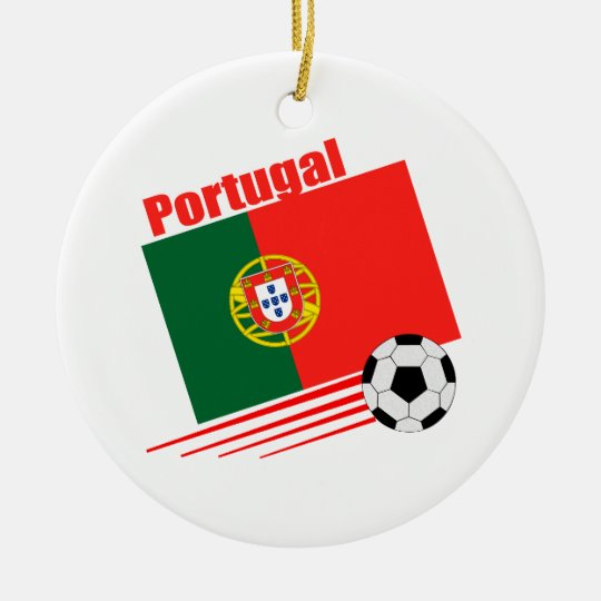 Portuguese Soccer Team Ceramic Ornament