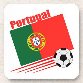 Portuguese Soccer Team Drink Coaster