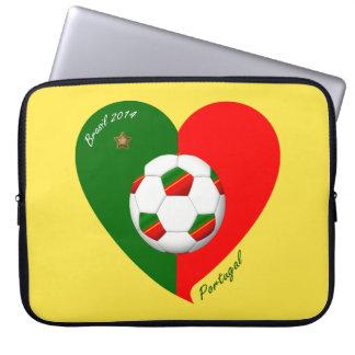 Portuguese Soccer Team Fútbol de PORTUGAL 2014 Fundas Computadoras