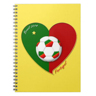 "Portuguese SOCCER Team. Fútbol de  ""PORTUGAL"" 2014 Libretas"