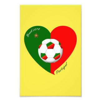 Portuguese Soccer Team Fútbol de PORTUGAL 2014 Impresiones Fotograficas