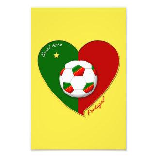 Portuguese SOCCER Team Fútbol de PORTUGAL 2014 Foto