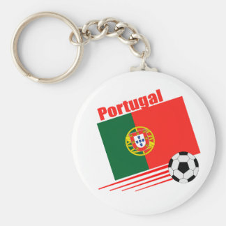 Portuguese Soccer Team Basic Round Button Keychain