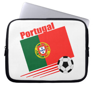 Portuguese Soccer Team Computer Sleeves