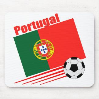 Portuguese Soccer Team Mouse Pad