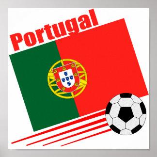 Portuguese Soccer Team Poster