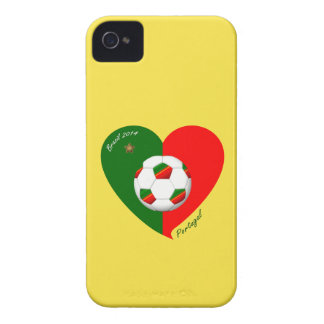 """Portuguese Soccer Team. Soccer of """"PORTUGAL"""" 2014 iPhone 4 Case-Mate Cases"""