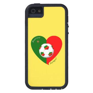 "Portuguese Soccer Team. Soccer of ""PORTUGAL"" 2014 iPhone SE/5/5s Case"