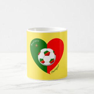 """Portuguese Soccer Team. Soccer of """"PORTUGAL"""" 2014 Mugs"""