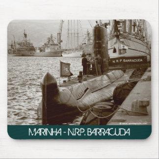 Portuguese submarine NRP Barracuda Mouse Pad