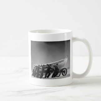 Portuguese Surf Boat Crew,1942 Coffee Mug