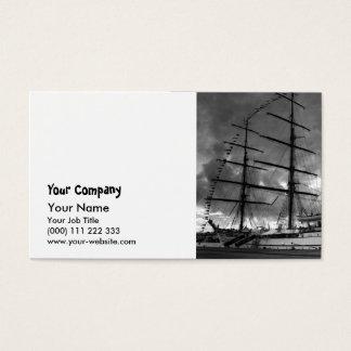 Portuguese tall ship NRP Sagres Business Card