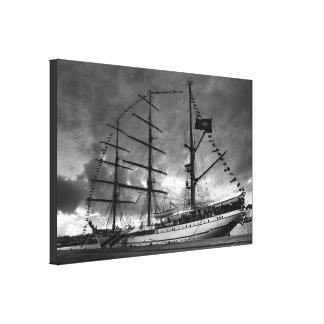 Portuguese tall ship NRP Sagres Canvas Print
