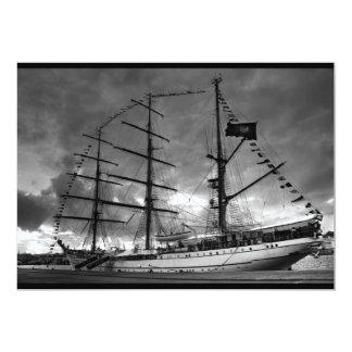 Portuguese tall ship NRP Sagres Card