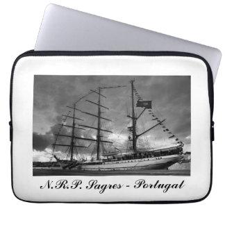 Portuguese tall ship NRP Sagres Laptop Computer Sleeve