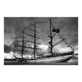 Portuguese tall ship NRP Sagres Stationery