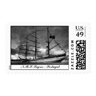 Portuguese tall ship postage