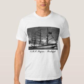 Portuguese tall ship t-shirt