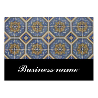 Portuguese tile large business cards (Pack of 100)