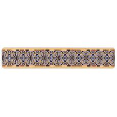 Portuguese tile pattern key holder