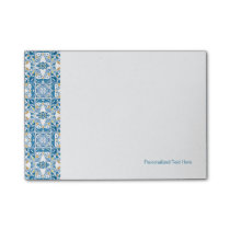Portuguese Tile Pattern Post-it Notes