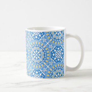 Portuguese tile patterns coffee mug