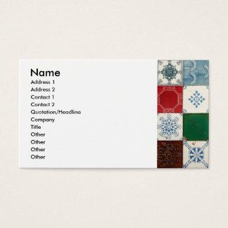 Ceramic Tile Business Cards Templates Zazzle