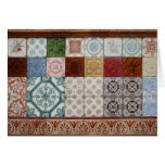 Portuguese tiles greeting cards