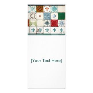Portuguese tiles rack card