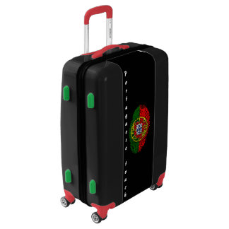 Portuguese touch fingerprint flag luggage