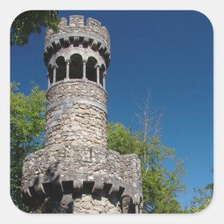 Portuguese tower square sticker